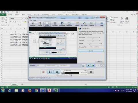 AutoCAD TO EXCEL FOR ALL LAND SURVEYOR