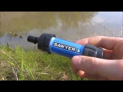 Sawyer Mini Water Filter Review and Test