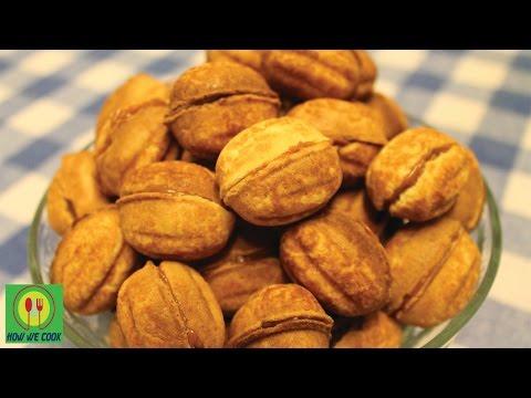 Орешки со сгущенкой Рецепт How we cook Самый вкусный десерт Sweet Walnut with condensed milk Recipe