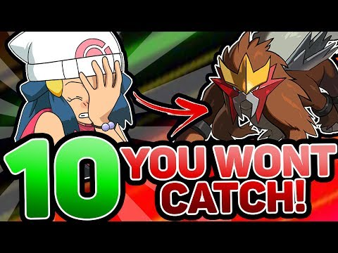 Top 10 Pokemon You Haven't Caught!