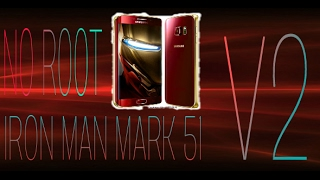IRON MAN EDITION THEME V2 FOR ANY SAMSUNG DEVISE NO ROOT!