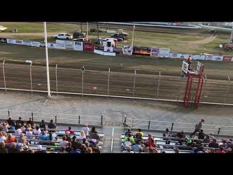 Hot laps at 34 Raceway All Stars 7-29-18