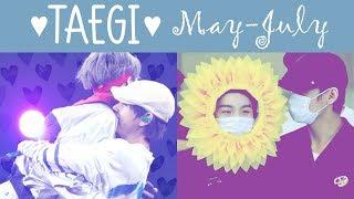 Taegi Moments 🖤 (May/June/July)