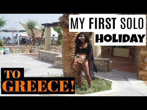 MY AMAZING FIRST SOLO HOLIDAY TO GREECE ! | VLOG P1