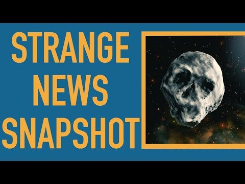 Skull Asteroid Will Just Miss Halloween