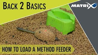 *** Coarse & Match Fishing TV *** How to load a method feeder