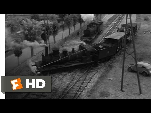 The Train (5/10) Movie CLIP - Train Wreck (1964) HD