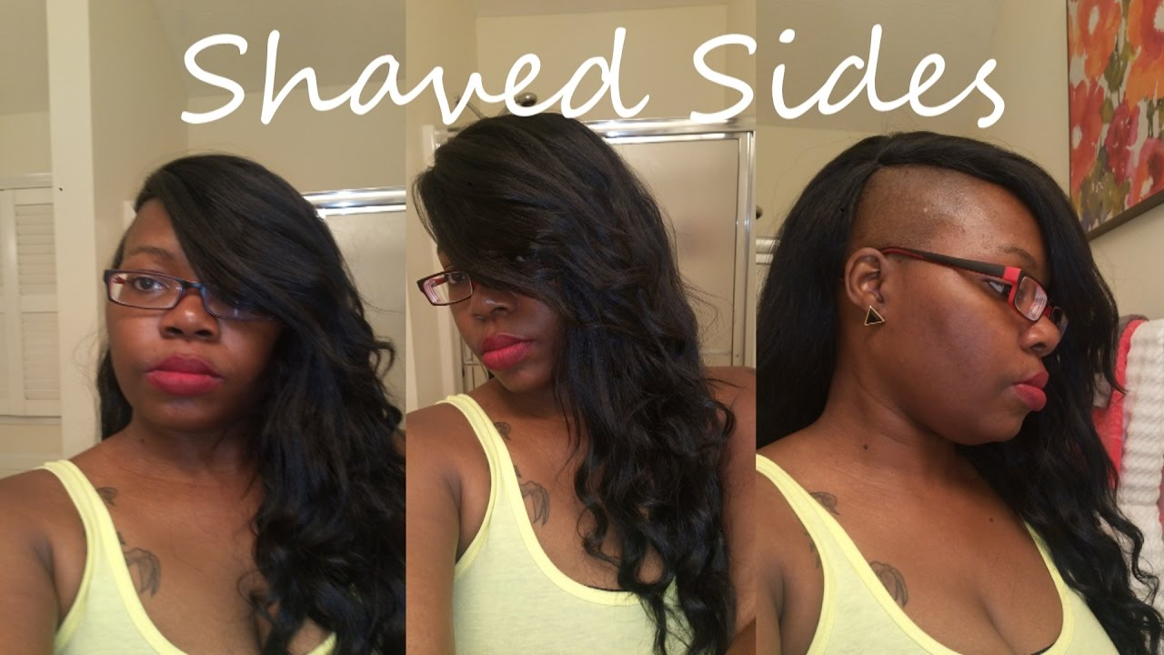 Quick Weave On Shaved Sides