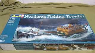 Revell Germany 1/142 North Sea Fishing Trawler Model Kit Review