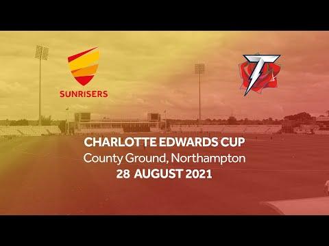 CHARLOTTE EDWARDS CUP MATCH ACTION | SUNRISERS VS THUNDER