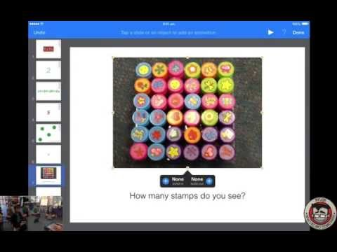 iPad Program Lesson 4: Students create Math Lessons with Keynote to share