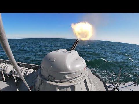 «Волгодонск» поразил морские и воздушные цели в Каспийском море