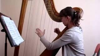 ALICE HRISTODOR, harp, Invention dans le style ancien - H. Renie