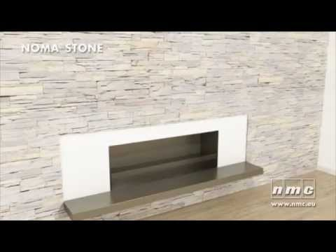 Pose de parements muraux nmc youtube - Mur en pierre decorative interieure ...