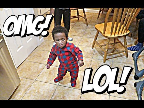 JAXSON PERFORMS AN ENTIRE DANCE SOLO! (FOR REAL!) 🎅🏾🎅🏾👶🏽👶🏾😍   VLOGMAS DAY #21