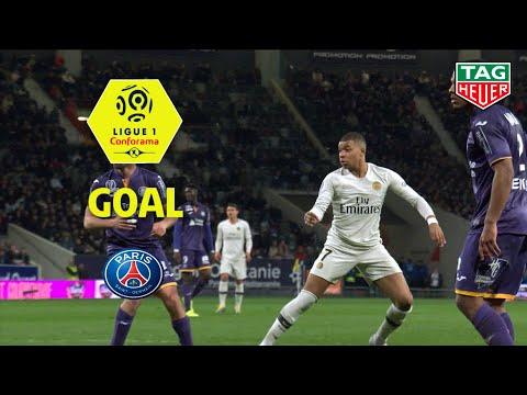 Goal Kylian MBAPPE (74') / Toulouse FC - Paris Saint-Germain (0-1) (TFC-PARIS) / 2018-19