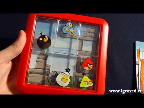 ANGRY BIRDS наверху и ANGRY BIRDS под конструкцией. Обзор настольной игры от Игроведа.