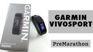 Review Garmin vivosport, pulsera de actividad con gps y pulsómetro de muñeca.