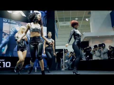 댄스팀 블랙퀸 - 2010 사진영상기자재전 공연2