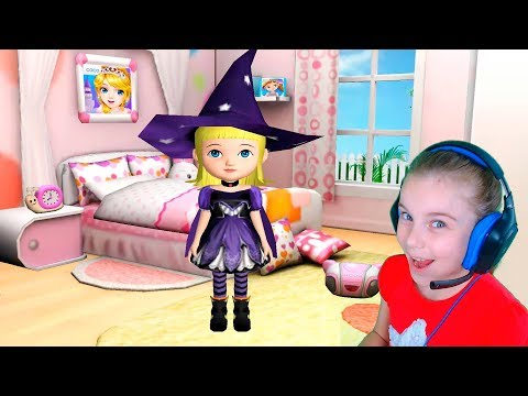 Ава 3Д куклы Игры для девочек в куклы с Авой