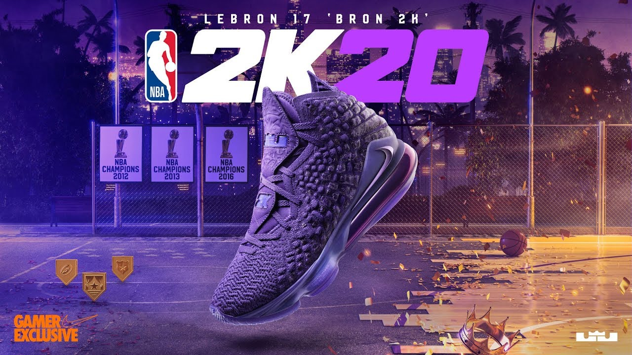 NBA 2K x LeBron 17 'Bron 2K' - YouTube