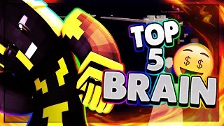 TOP 5 DES MEILLEURS BRAINS EN RUSH SUR FUNCRAFT ! #2