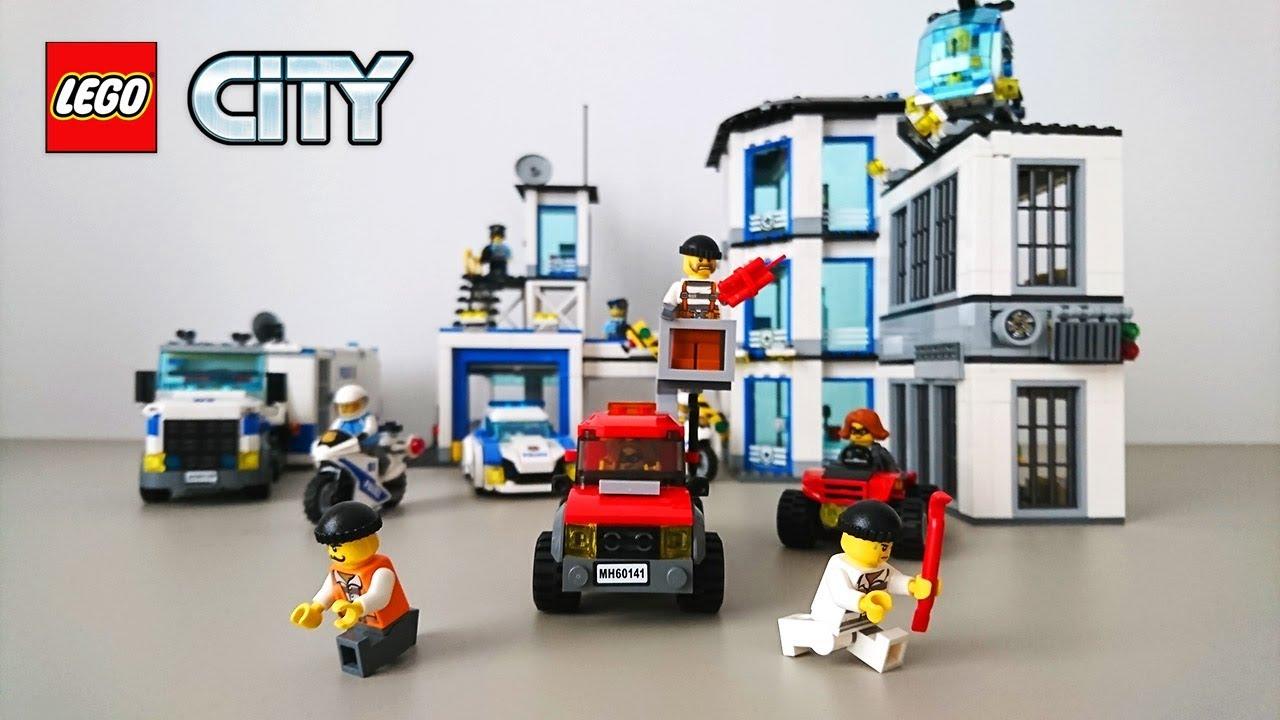 Lego Policja I Złodzieje Z Lego City Ucieczka Z Więzienia