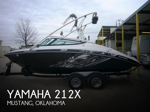 Used 2012 yamaha 212x for sale in fort worth texas youtube for Buy bass boat without motor