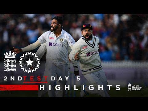 India Claim Thrilling Win! | England v India - Day 5 Highlig