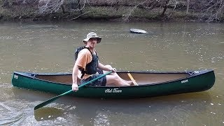 Old Town Pack Canoe - First Float (For Me) 103018