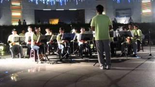 2011 - 09 - 04 嘉義艷紫荊管樂團/ 社區音樂會- 公園有約(一) 成立於民...