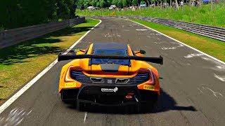 Gran Turismo Sport - Gameplay McLaren 650S GT3 @ Nurburgring Nordschleife [1080p 60fps]