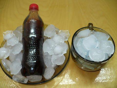 Как заморозить кубики льда без формочки