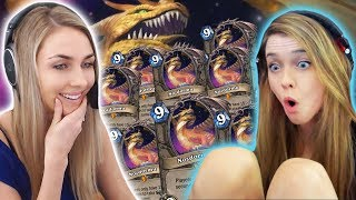 Can you guess how many Nozdormus we had in our deck?? (Hearthstone Co-Op w/ Slysssa)