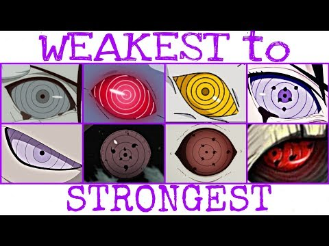 8 Rinnegan Forms | WEAKEST TO STRONGEST