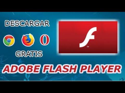descargar Adobe Flash Player para Windows Ultima Version 2018