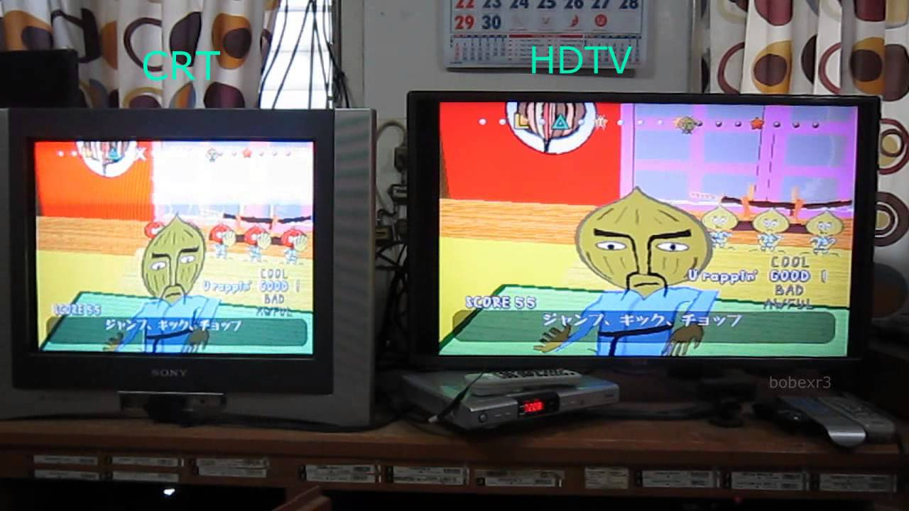 Hdtv Vs Crt Tv Display Lag Youtube