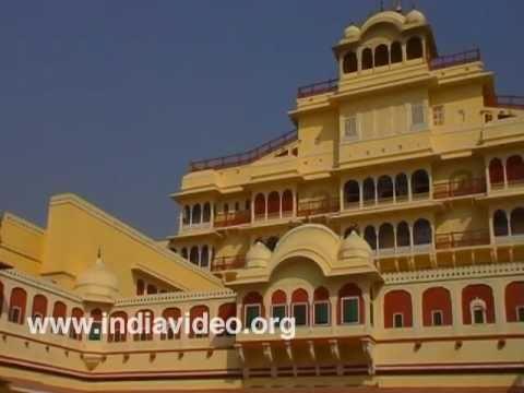 The City Palace of Jaipur, Rajasthan