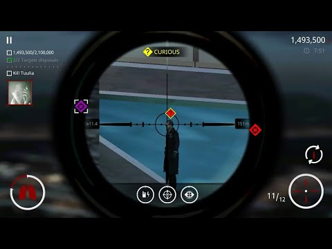 Hitman Sniper - Get 2 high profile target body disposals, Kill Tuulia Hernandez