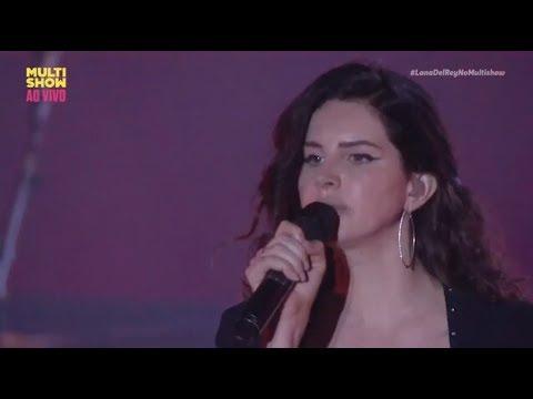 Lana Del Rey - 13 Beaches Live (From Lollapalooza Brazil) HD 2018