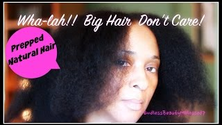 How I Prep My Hair for Flat Iron | Deep Condition | Heat Protector | Blow Dry