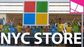 Microsoft NYC Flagship Store Grand Opening