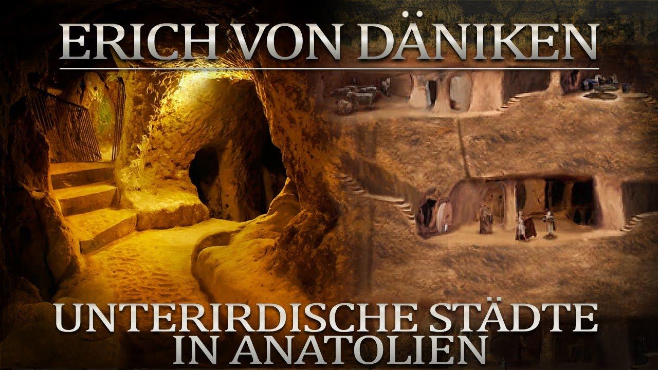 Erich von Daniken Unterirdische Städte in Anatolien