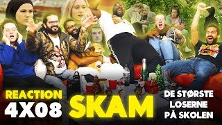 SKAM - 4x8 De største loserne på skolen (The biggest losers at school) - Group Reaction