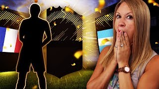 MY SON PACKS HIS FIRST WALKOUT! FIFA 18 ULTIMATE TEAM