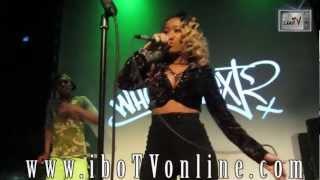 Diamond - Rock Her Hips Live At S.o.b.'s Nyc 3/15/12 @ibo_tv