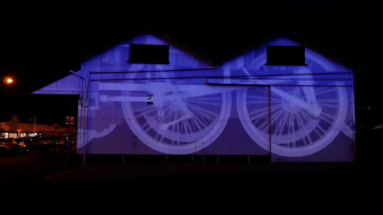 Railway Goods Shed, Collie - Projection and Sound Design