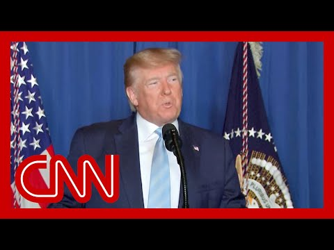 Trump speaks after