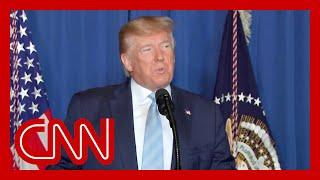 Trump speaks after ordering strike on top Iran general