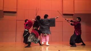 Samurai Performance Team Karasu (crow) 殺陣集団鴉 リファッション協...